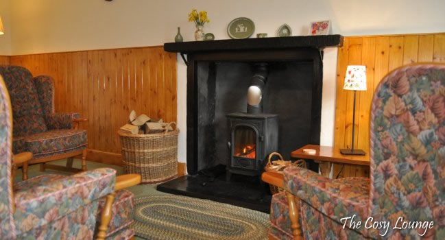 Cosy Living Room at Cults Cottage, Whithorn
